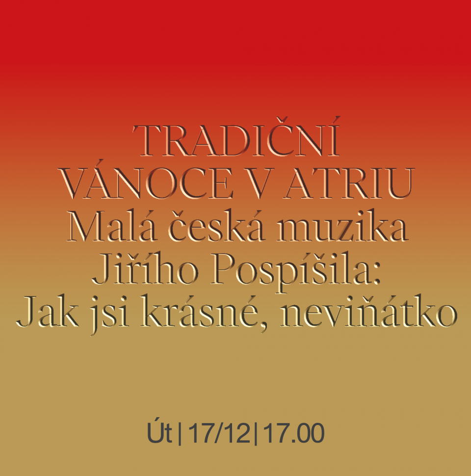 Malá česká muzika Jiřího Pospíšila: Jak jsi krásné, neviňátko