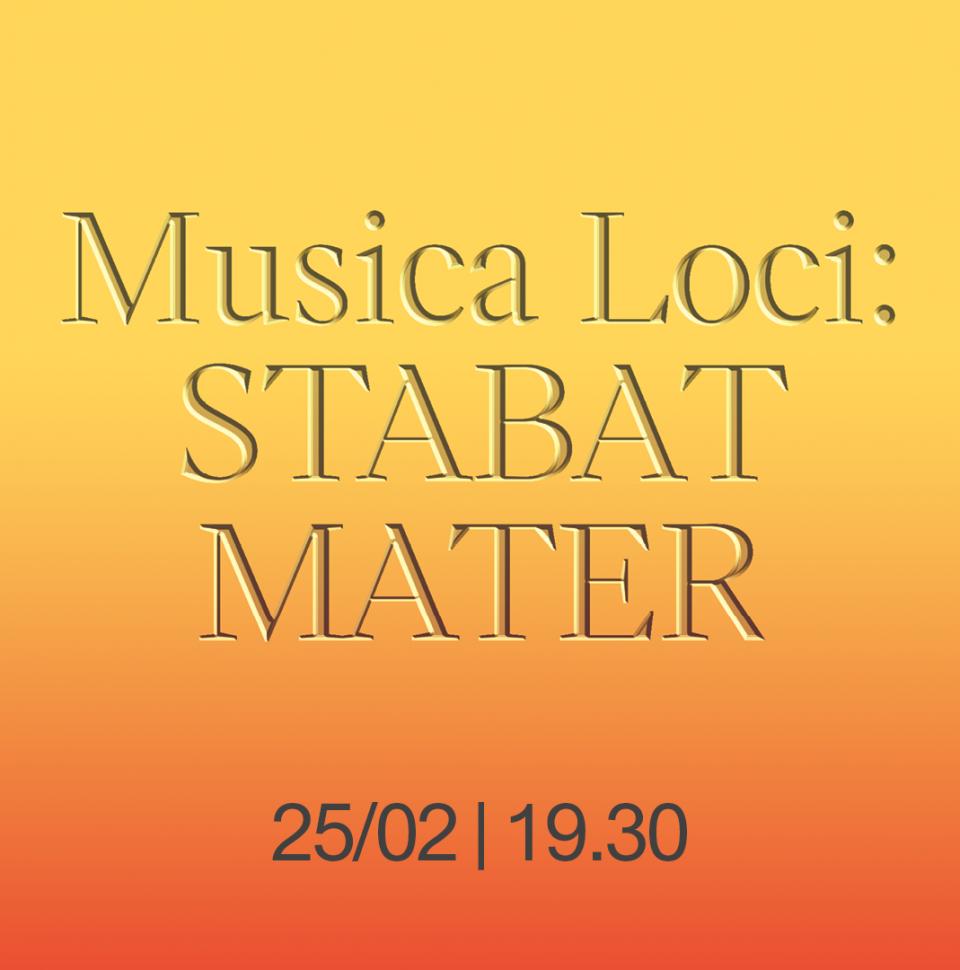 Musica loci: Stabat Mater
