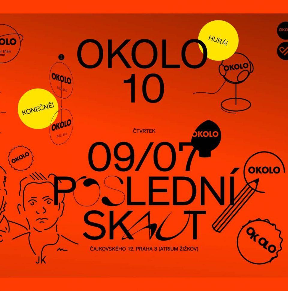 OKOLO 10 YEARS – křest knihy + party